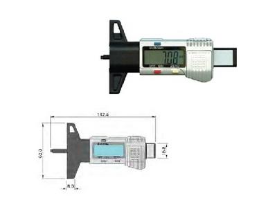 数显轮胎花纹深度测量仪
